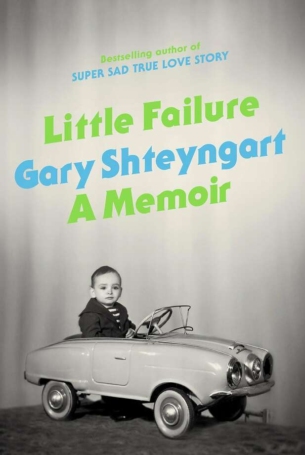 """This book cover image provided by Random House shows """"Little Failure,"""" a memoir by Gary Shteyngart. In the book, Russian-American novelist Shteyngart offers a funny, honest memoir of an immigrant success story. (AP Photo/Random House) Photo: Associated Press"""