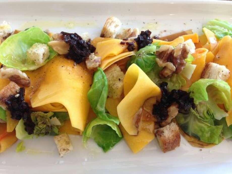 Coltivare: Butternut Squash Salad Photo: Greg Morago