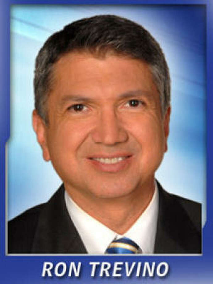 Anchor Ron Trevino works the early morning shift and the noon newscast on KHOU-TV