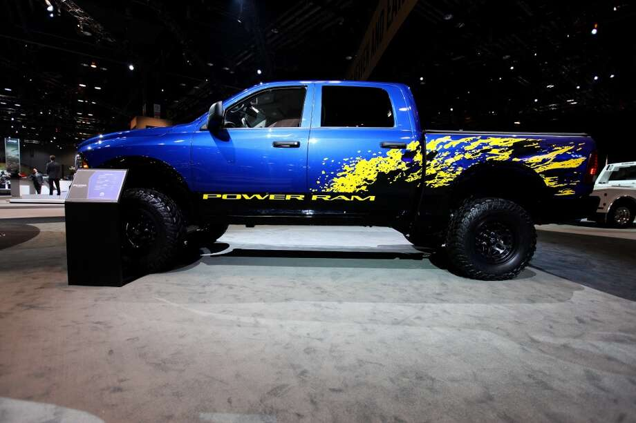 Dodge Mopar Customized Power RAM at the Chicago Auto Show at McCormick Place in Chicago, Illinois. Photo: Raymond Boyd, Getty Images