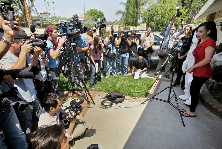 She's lost a home to foreclosure, teetered on the brink of bankruptcy and fought with nannies and others who tried to help her, leaving in her wake a string of publicists, lawyers and good-Samaritan types who no longer want to talk about her.PHOTO: Octomom Nadya Suleman speaks to media outside her home in La Habra, Calif., on May 19, 2010. Suleman has filed for bankruptcy  and her home is scheduled to be auctioned on May 7, 2012. Photo: Damian Dovarganes, Associated Press / AP2010