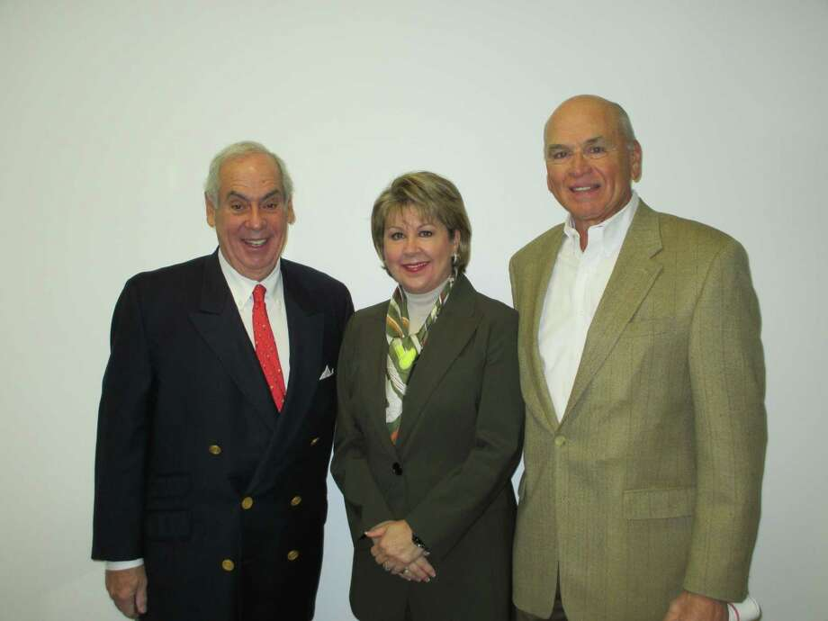 Mike Inselmann, John Daugherty and Cheri Fama