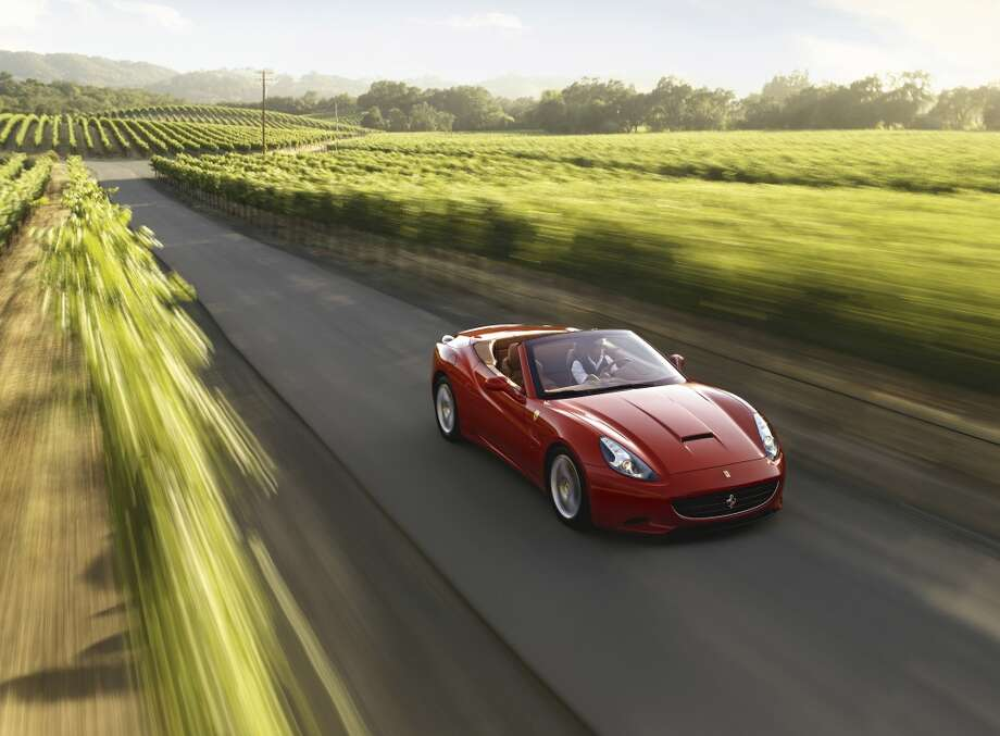 The Ferrari California. Photo: 089840.jpg