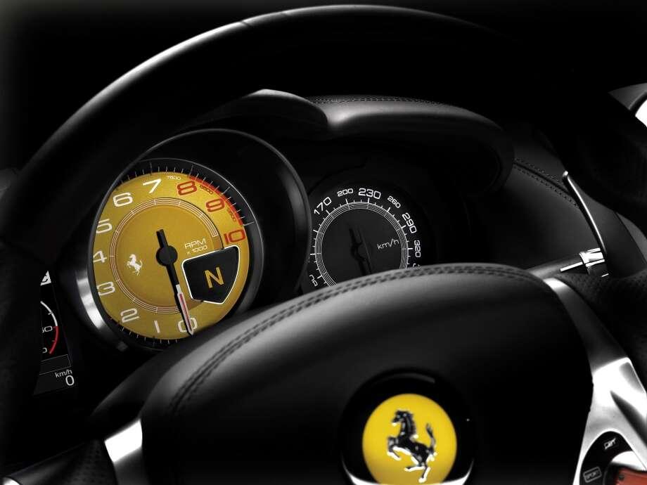The Ferrari California. Photo: 089550.JPG