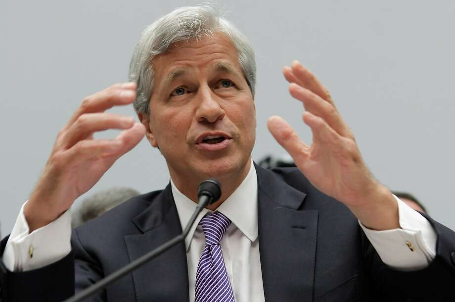 JPMorgan Chase CEO Jamie Dimon received a 74 percent raise for 2013. Photo: Chip Somodevilla, Getty Images