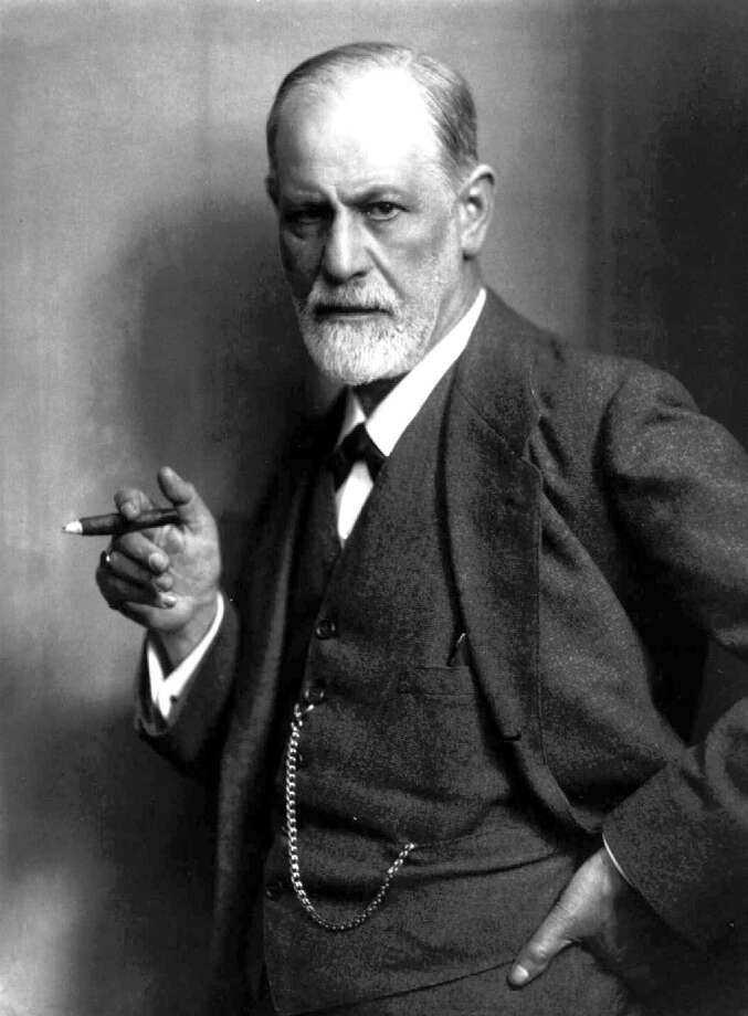 "ADV. FOR MON. AMS, NOV. 1--FILE--Sigmund Freud, the father of psychoanalysis, holds a cigar in this undated file photo. Freud was willing to concede that sometimes, a cigar is just a cigar. But on the larger issue he was adamant -- a dream is never just a dream.  Freud's 'The Interpretation of Dreams' was published a century ago, on Nov. 4 1899. (AP Photo/File)  HOUCHRON CAPTION (11/09/1999):  Sigmund Freud's ""The Interpretation of Dreams"" was published 100 years ago.   HOUCHRON CAPTION  (11/26/2002):  The PBS documentary Young Dr. Freud looks at how Sigmund Freud (shown in a 1921 photo) might have to his conclusions on psychoanalysis.  HOUCHRON CAPTION (01/24/2004):  Freud. Photo: HO / CHRISTIE'S"