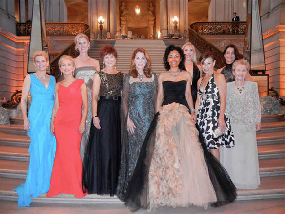 The SF Ballet Gala Committee in City Hall Photo: Catherine Bigelow