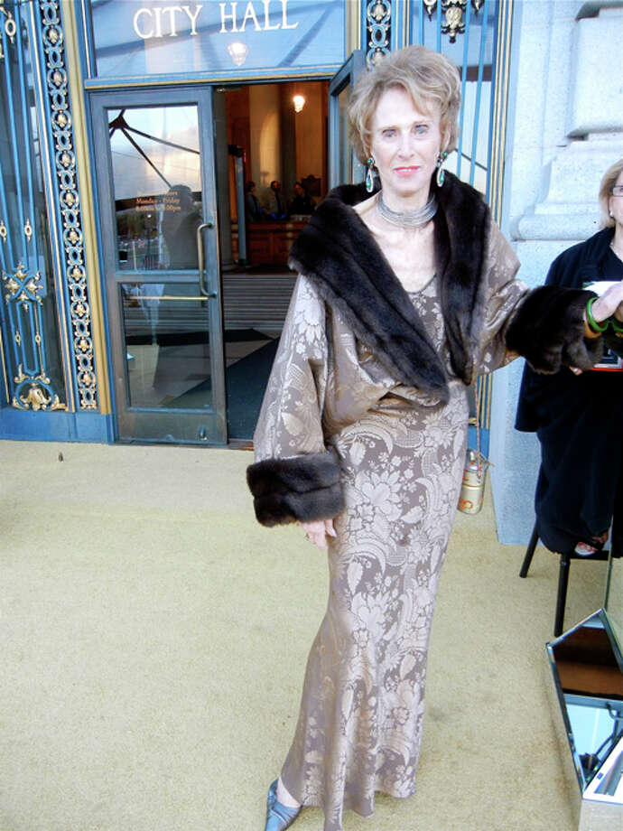 Dedicated Ballet supporter Vera Carpeneti Photo: Catherine Bigelow