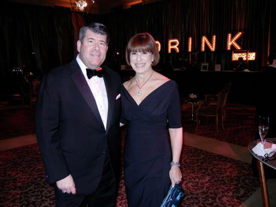 Neiman Marcus GM Alan Morrell and Terri Murphy-Mino Photo: Catherine Bigelow