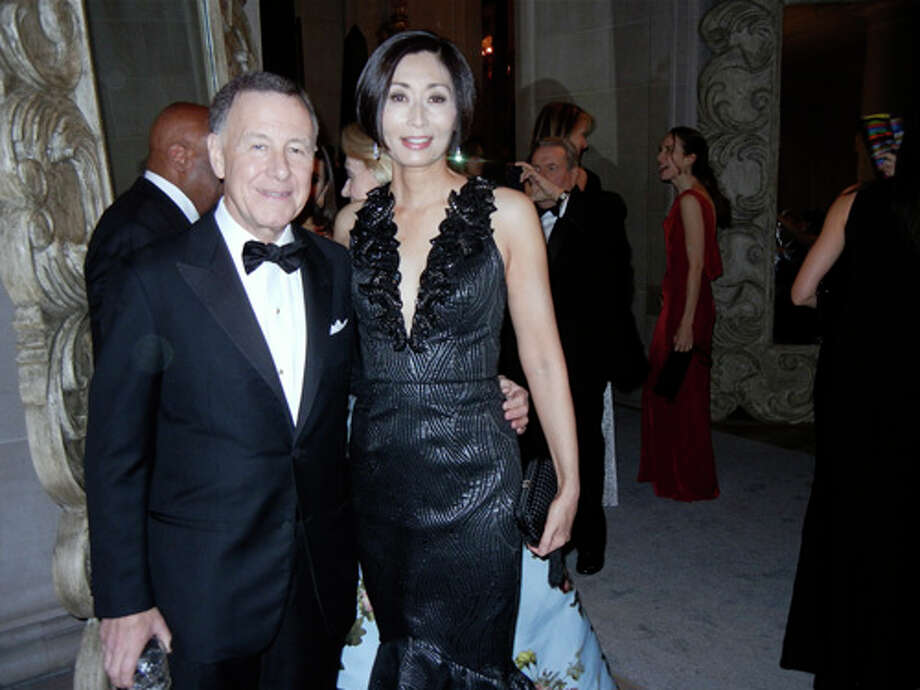 SF Ballet Trustee Carl Pascarella and his wife, Yurie Pascarella Photo: Catherine Bigelow
