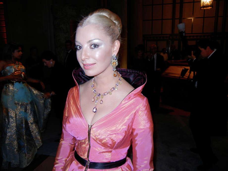 Sonya Molodetskaya sparkles in jewels by PR Gallery & Gems Photo: Catherine Bigelow