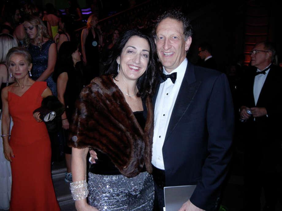 Pamela Baer and her husband, SF Giants President Larry Baer Photo: Catherine Bigelow