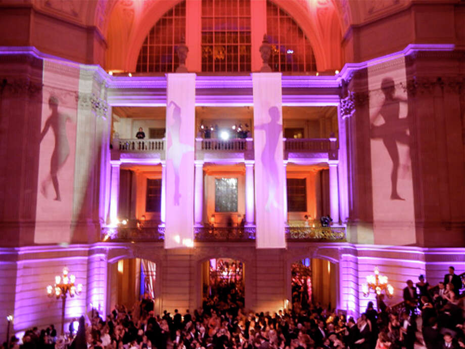 The Rotunda rocked during the gala's post-performance party Photo: Catherine Bigelow