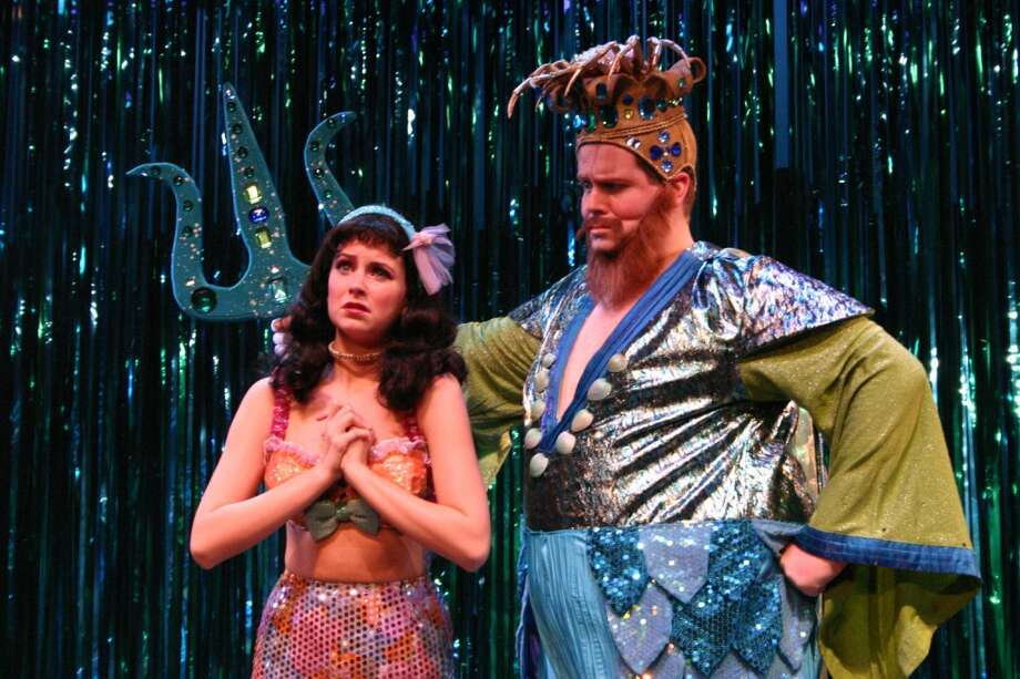 """The Littlest Mermaid"" runs through Feb. 16 at the Downtown Cabaret Theatre, 263 Golden Hill St., Bridgeport, Conn. Photo: Contributed Photo, Contributed"