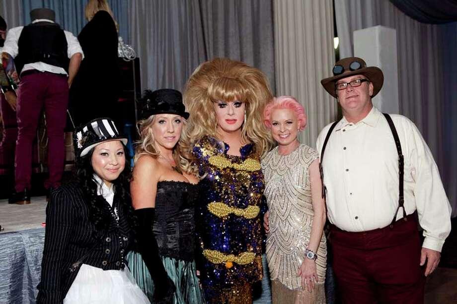 Cristin Tran, Kodi Roberts, Lady Bunny, Vivian Wise and Matt Matthews Photo: JennyAntill / JennyAntill