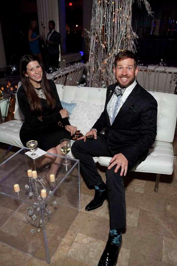 Ally and Jeff Shell Photo: JennyAntill / JennyAntill
