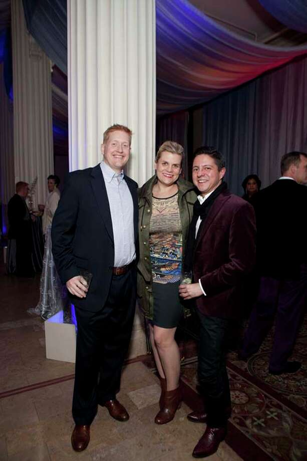 Stephen Jones, Liz Gorman and Nick Espiniosa Photo: JennyAntill / JennyAntill