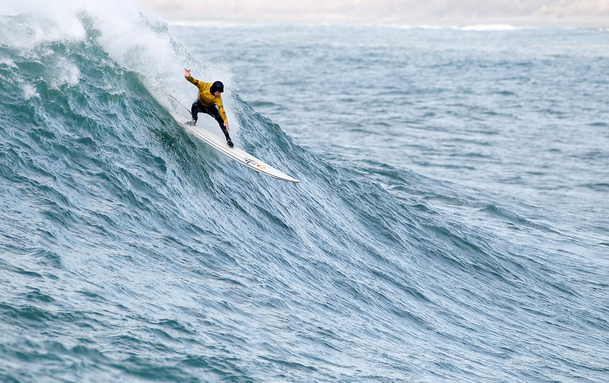 Mavericks surf contest draws thousands to experience thrills