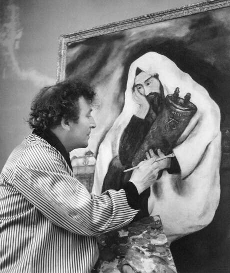 """Jesus became a lifelong obsession for painter Marc Chagall, shown with """"Solitude"""" in 1933. Photo: The Jewish Museum / Courtesy Photo"""