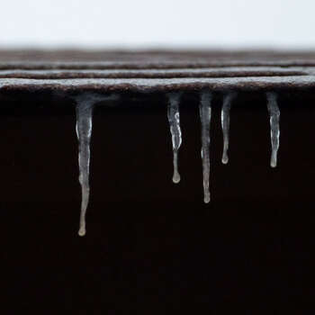 Ice at my house in San Antonio:) Photo: Reader Photo/Kylie Nix