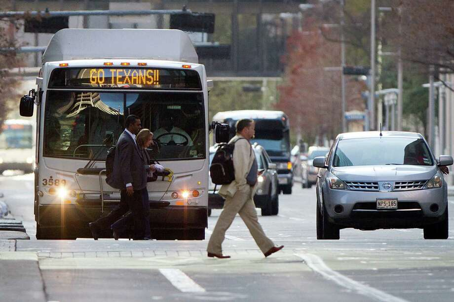 Metropolitan Transit Agency bus routes will change in June, as part of a systemwide redesign of service. Critics say some of the changes will make access worse in some communities. Photo: Smiley N. Pool, Staff / © 2012  Houston Chronicle