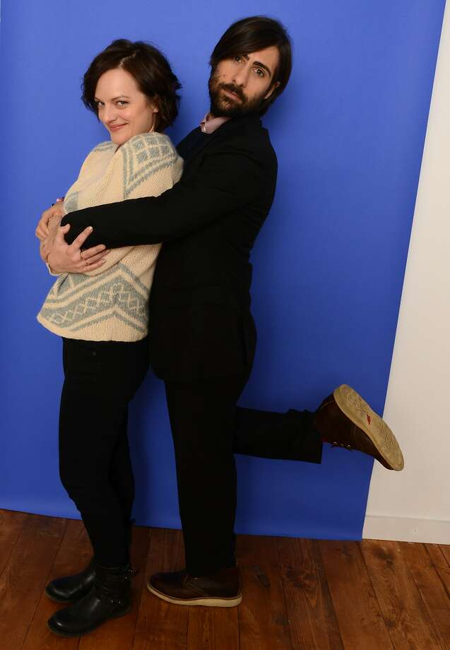 """Mad Men"" star Elisabeth Moss and Jason Schwartzman hang out at the Sundance Film Festival, where their film ""Listen Up Philip"" had its world premiere. Photo: Larry Busacca, Getty Images"