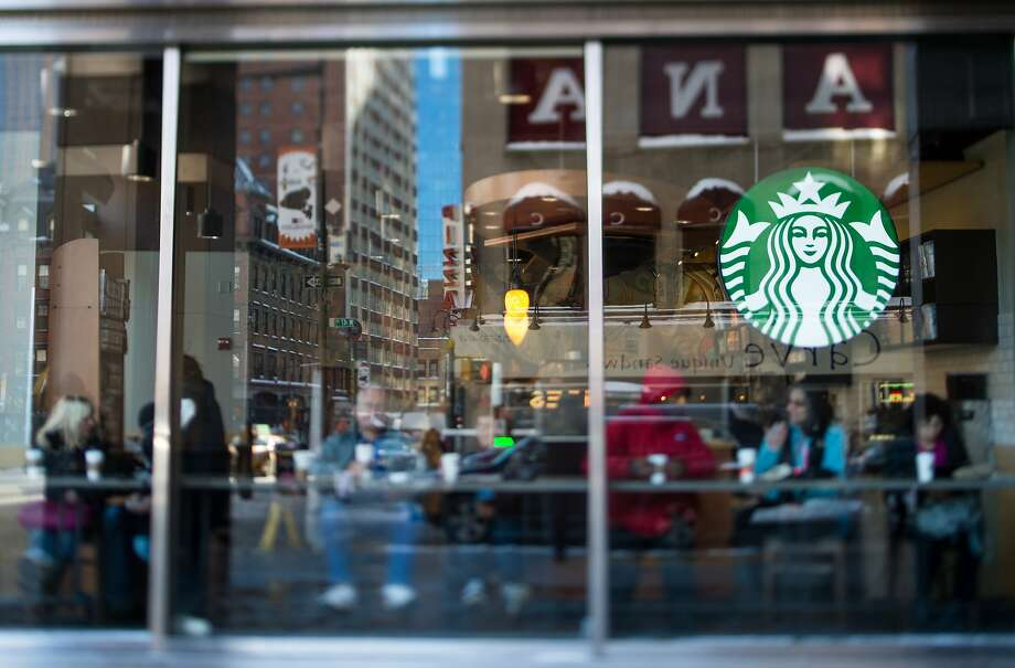 Starbucks stores in New York City, like this one, and in many parts of California, including the Bay Area, are offering the new baked goods. Photo: Ron Antonelli, Bloomberg
