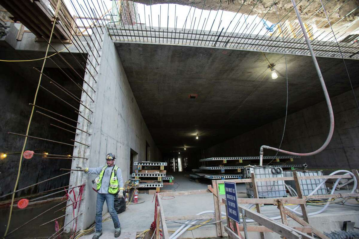 An area that will house the Highway 99 approach into and out of the tunnel is shown.