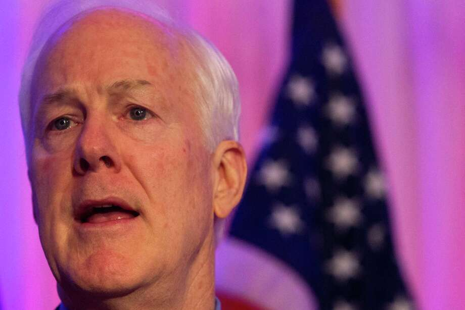 U.S. Senator John Cornyn speaks at the Fort Bend County Lincoln Dinner at Safari Texas in Richmond on Friday, Jan. 10, 2014, in Richmond.  ( J. Patric Schneider / For the Chronicle ) Photo: J. Patric Schneider, Freelance / © 2014 Houston Chronicle
