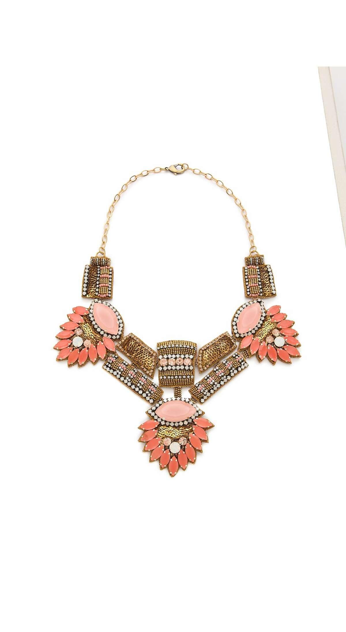 Deepa Gurnani stone statement necklace, $275, Shopbop.com