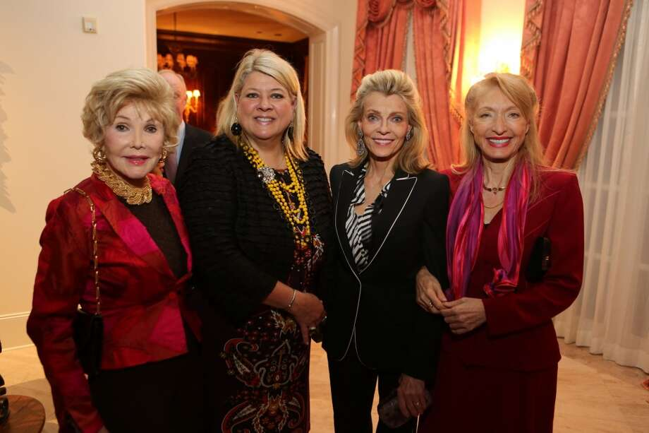 Joanne King Herring, Cammy Jones, Alice Burguieres, and Marie LeNotre