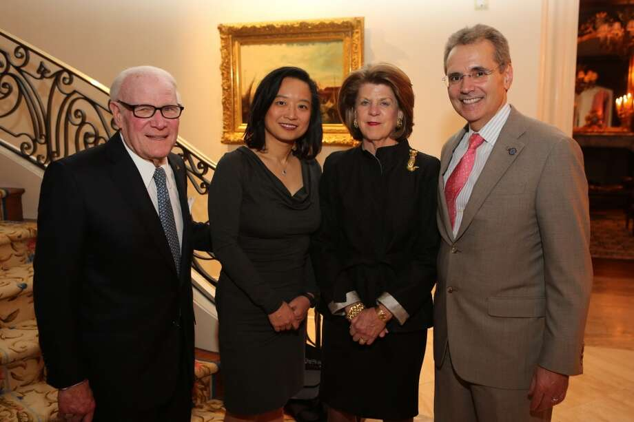Rodney Margolis, Dr. Lynda Chin, Judy Margolis, and Dr. Ron DePinho Photo: Picasa