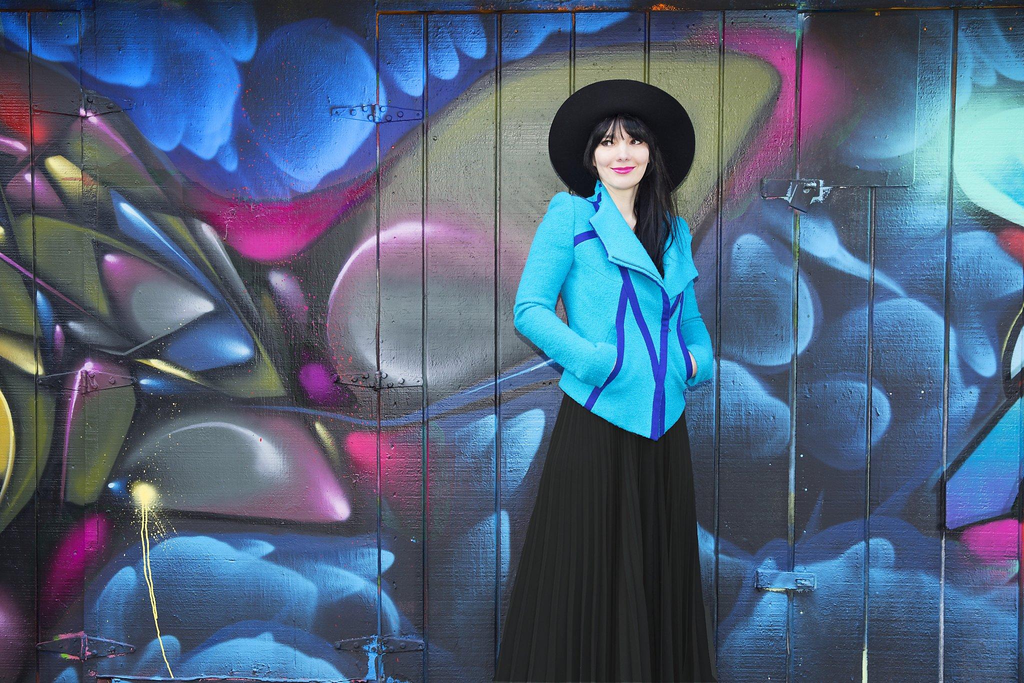 Camelia Skikos Fashion Designer Charts Bold Course
