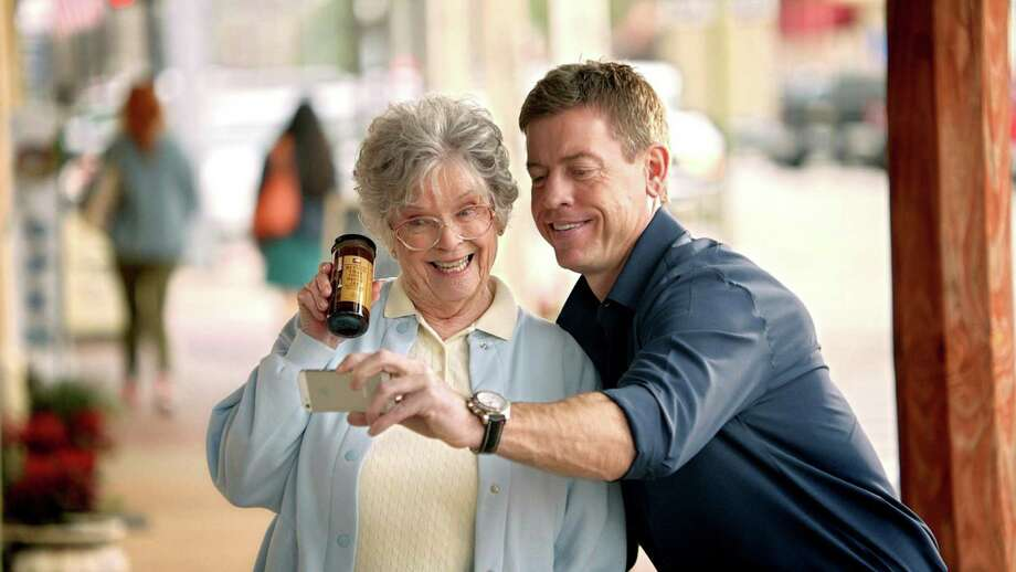 Former Dallas Cowboys quarterback Troy Aikman stars in H-E-B's commercial for this year's Super Bowl game. The 60-second advertisement is scheduled for broadcast between the third and fourth quarters.