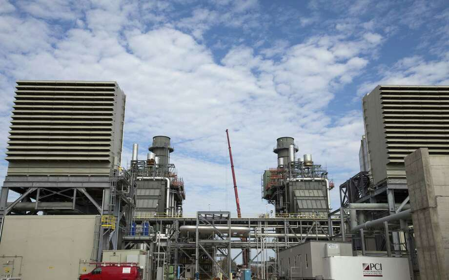 The Cedar Bayou 4 natural gas plant in Baytown. Natural gas for February delivery closed Friday at $5.18 per million Btu. Photo: Eric Kayne / For The Houston Chronicle / © 2011 Eric Kayne