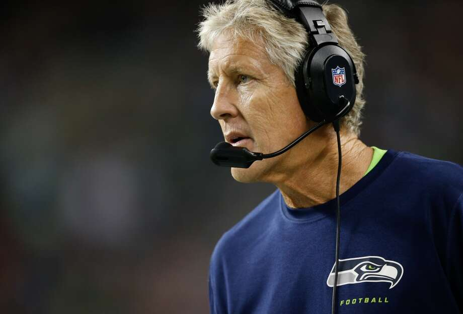 Head coach Pete Carroll The ringleader of the operation honed his fun-focused, laid back style in unsuccessful coaching stops with the New York Jets and New England Patriots before winning two national championships at USC. Many doubted his rah-rah style would work in the NFL, but he's proved his critics wrong so far, going 38-26 in the Emerald City. Carroll is the ultimate players' coach, but his focus on competition within the organization means he's not likely to be overly sentimental. Photo: Otto Greule Jr, Getty Images