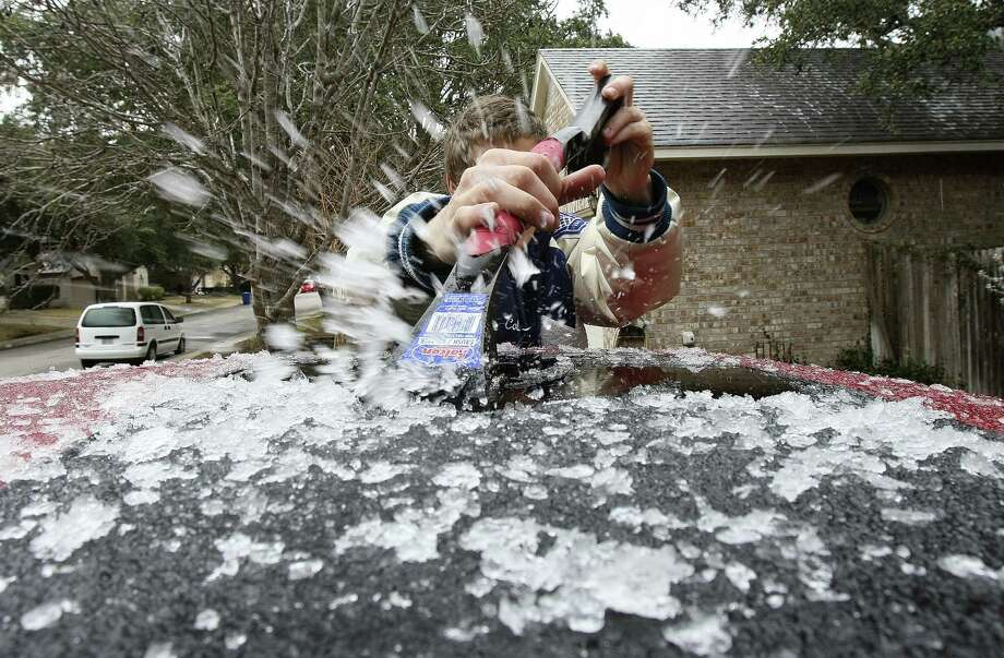 According to weather.com, S.A. hit 24 degrees late Tuesday and early Wednesday. There are places in Alaska where you'd be better off. Check out this list of cities that are warmer than S.A. right now. Data gathered from Yahoo Weather Photo: Helen L. Montoya / San Antonio Express-News / SAN ANTONIO EXPRESS-NEWS