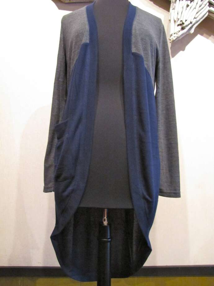 Long cardigan, $55, Splash of Karma, Nederland Photo: Cat5