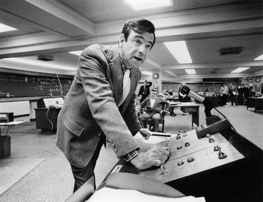 Walter Matthau at a control board in a scene from the film 'The Taking Of Pelham One Two Three.' In this movie, men highjack a subway car and demand a ransome. Just one problem: even if the money is paid, how can they escape? Photo: Michael Ochs Archives, Getty Images / 2012 Getty Images