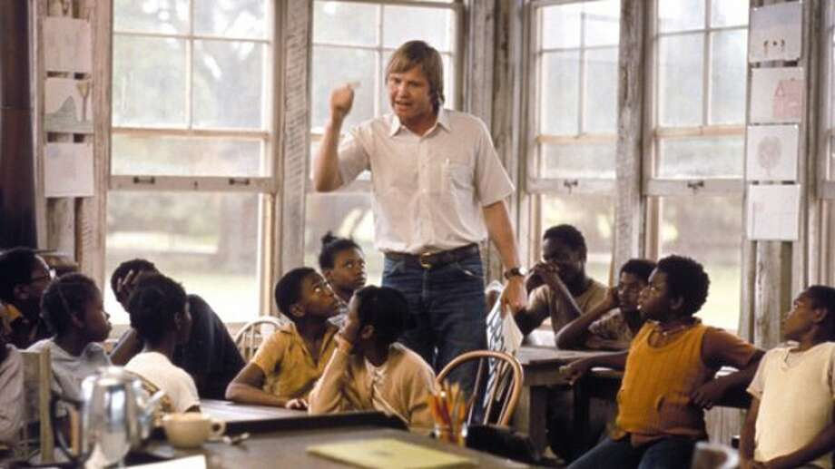 Before he won an Oscar, before we ever heard of his daughter Angelina Jolie, before his politics veered sharply right, Jon Voight starred in this adaptation of Pat Conroy's autobiographical book about his time teaching kids from the poorest of poor black families on a small island off the coast of South Carolina. This was a cable mainstay in many people's youths.