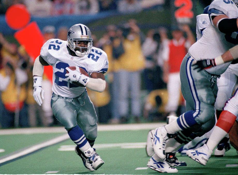 Super Bowl XXVIII. Sunday, Jan. 30, 1994.  Atlanta, Ga. (indoors) Temperature: 72 degrees. Dallas Cowboys 30, Buffalo Bills 12 Photo: SUSAN RAGAN, AP / 1994 AP