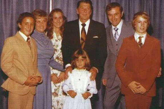 Rand Paul, right, beside his father, Ron, Ronald Reagan and other relatives. While Sen. Rand Paul has been trying to broaden his appeal, he is also trying to take libertarianism, long on the fringes of politics, into the mainstream.