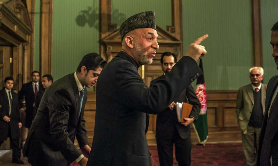 Afghan President Hamid Karzai's government has released an inflammatory dossier about Jan. 15 U.S. airstrikes. Some of the documents falsely represent the evidence, Western officials say. Photo: Mauricio Lima / New York Times / NYTNS