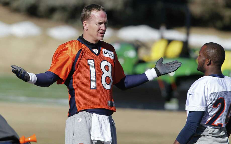 Denver quarterback Peyton Manning (left) can add to his legacy by becoming the first QB to win a title with two teams. Photo: Ed Andrieski / Associated Press / AP