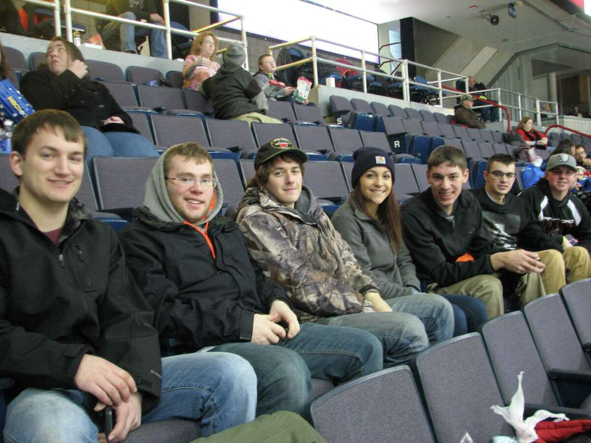 Were you Seen at the Albany Devils vs. Adirondack Phantoms hockey game during Times Union Family Day on Saturday, Jan. 25, 2014, at the Times Union Center in Albany?