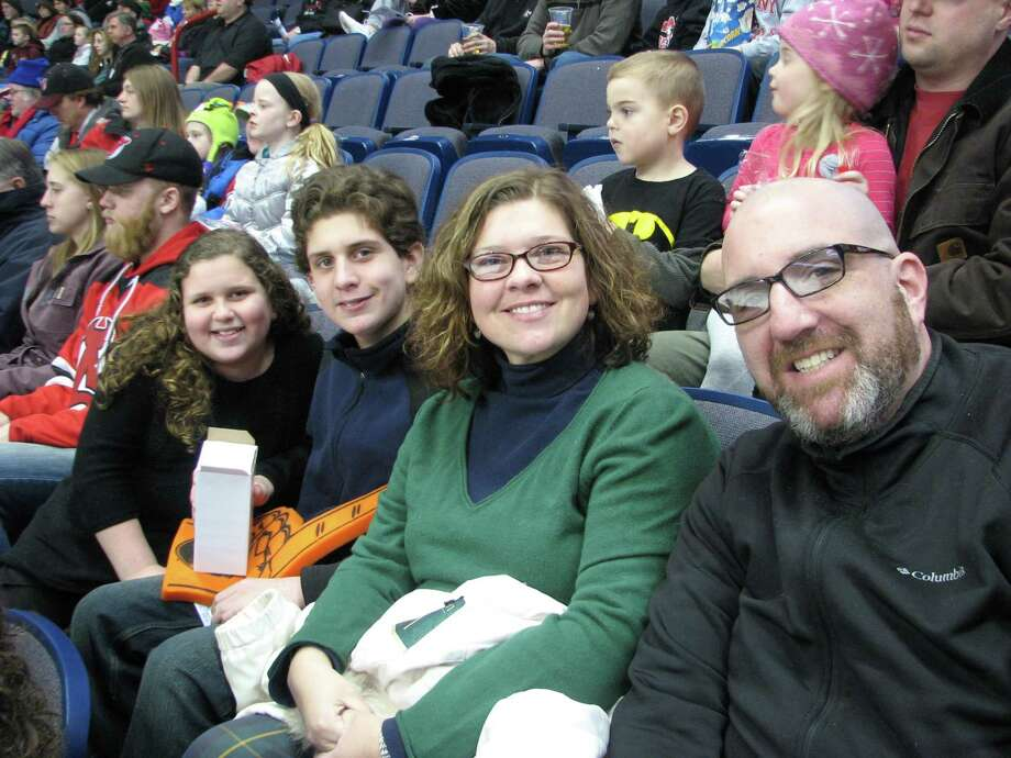 Were you Seen at the Albany Devils vs. Adirondack Phantoms hockey game during Times Union Family Day on Saturday, Jan. 25, 2014, at the Times Union Center in Albany? Photo: Casey SoHyeun Cho