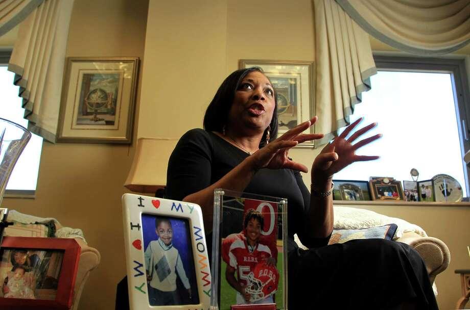 Federal Judge Vanessa Gilmore photographed in her office Jan. 13, 2014, in Houston.   ( Karen Warren / Houston Chronicle ) Photo: Karen Warren, Staff / © 2013 Houston Chronicle