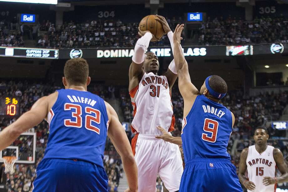 Toronto's Terrence Ross takes a shot on his way to a 51-point game. Photo: Chris Young, Associated Press