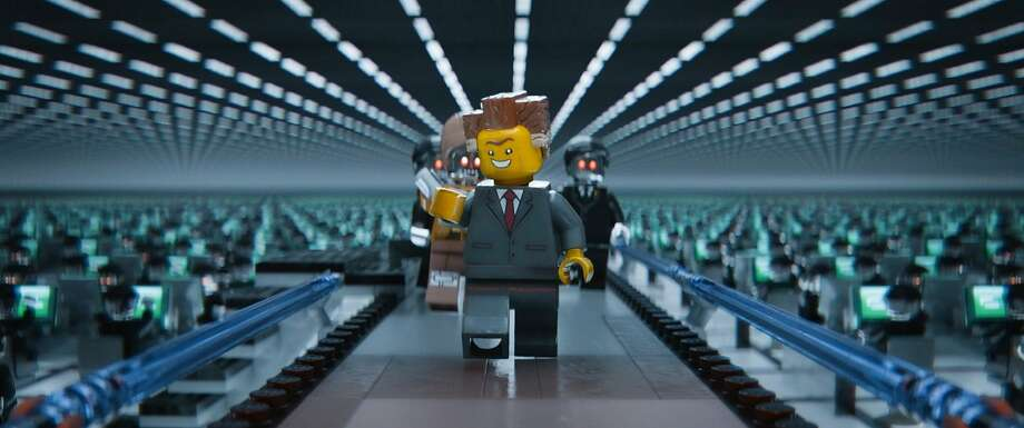 "President Business (voice of Will Ferrell) in ""The Lego Movie."" Photo: Warner Bros., WEinstein Co."