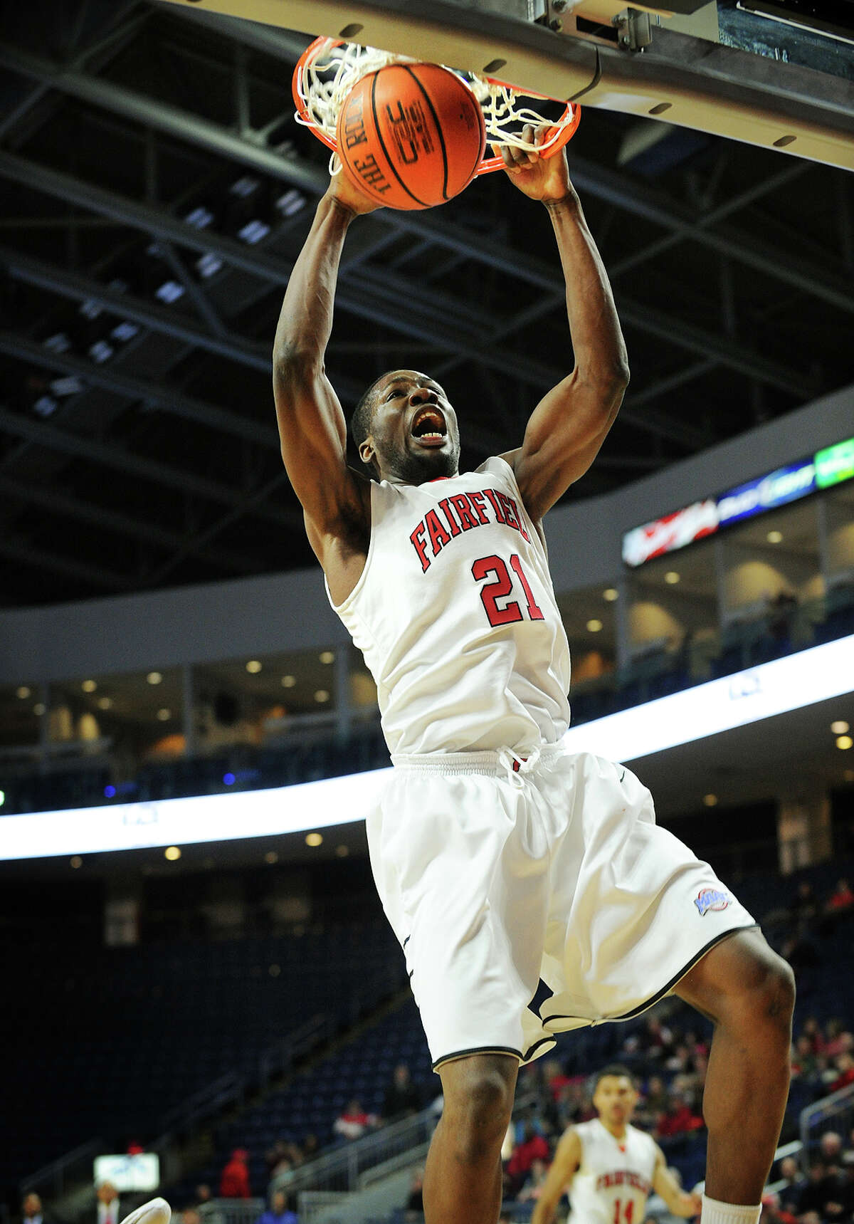 The Fairfield U Stags take on Marist at Webster Bank Arena on Friday. Find out more.